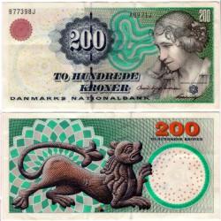 (57a) Dinamarca. 1997. 200 Kroner (EBC)