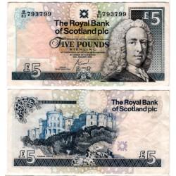 (364) Escocia. 2005. 5 Pounds (MBC)