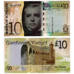 (125a) Escocia. 2007. 10 Pounds Sterling (EBC)