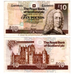 (353b) Escocia. 2006. 10 Pounds Sterling (MBC) Pequeñas manchas