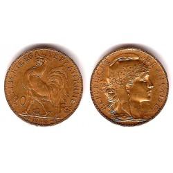 Francia. 1905. 20 Francs (MBC) (Oro)