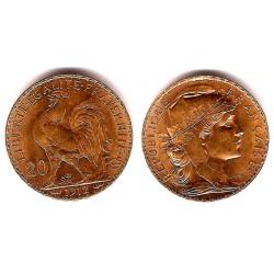 Francia. 1912. 20 Francs (SC-) (Oro)