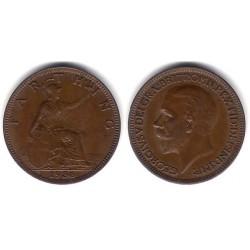 (825) Gran Bretaña. 1936. Farthing (SC)