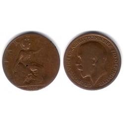 (808.1) Gran Bretaña. 1915. Farthing (RC)