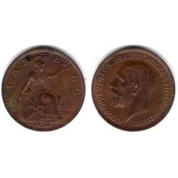 (825) Gran Bretaña. 1934. Farthing (EBC)