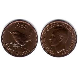 (867) Gran Bretaña. 1950. Farthing (SC)