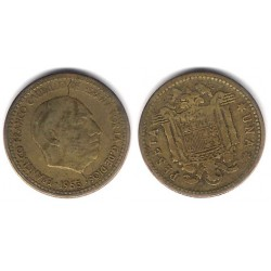 Estado Español. 1953*(19-60). 1 Peseta (BC)
