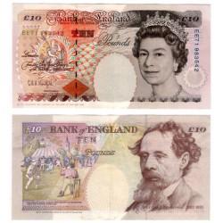 (386a) Gran Bretaña. 1993. 10 Pounds (EBC)
