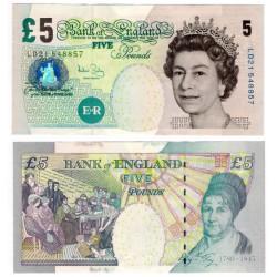(391c) Gran Bretaña. 2002. 5 Pounds (EBC)