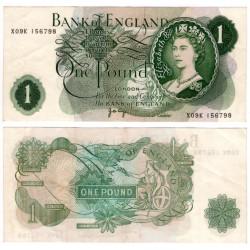 (374g) Gran Bretaña. 1960-77. 1 Pound (EBC)