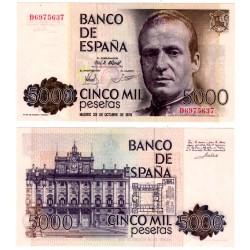 España. 1979. 5000 Pesetas (SC-) Serie D