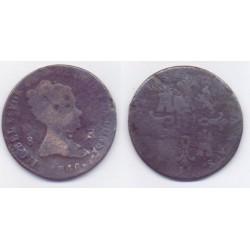 Isabel II. 1846. 8 Maravedí (RC) Ceca de Jubia