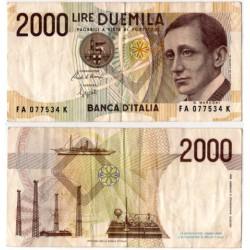 (115) Italia. 1990. 2000 Lira (MBC)