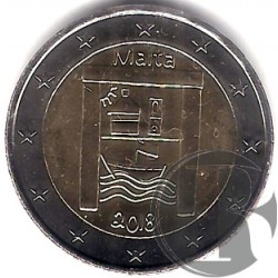 Malta. 2018. 2 Euro (SC)