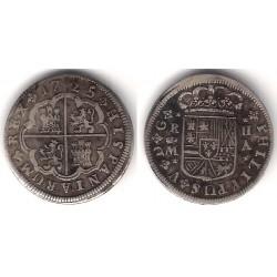 Felipe V. 1725. 2 Reales (MBC+) Ceca de Madrid A (Plata)
