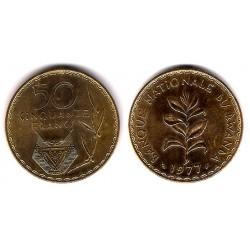 Ruanda. 1977. 50 Francs (EBC)