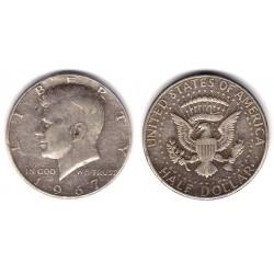 (202a) Estados Unidos de América. 1967. Half Dollar (BC) (Plata)