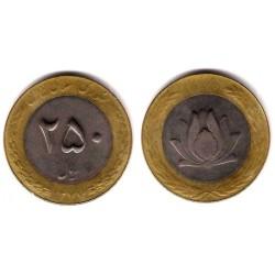 (126.2) Irán. 1998/1377. 250 Rials (BC+)