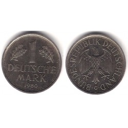 (110) Alemania. 1980(G). 1 Mark (MBC)