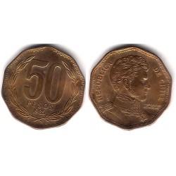 (219.1) Chile. 1985. 50 Pesos (EBC+)