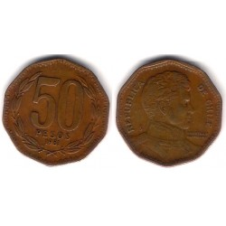 (219.1) Chile. 1981. 50 Pesos (BC+)