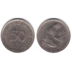(109.2) Alemania. 1974(G). 50 Pfennig (BC+)