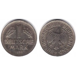 (110) Alemania. 1968. 1 Mark (BC+)