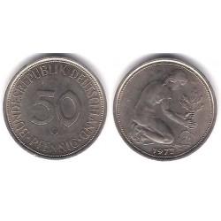 (109.2) Alemania. 1972(G). 50 Pfennig (MBC)