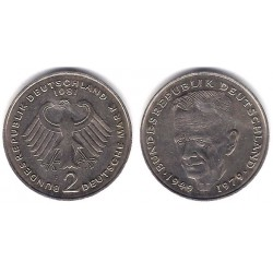 (149) Alemania. 1981(F). 2 Mark (MBC)