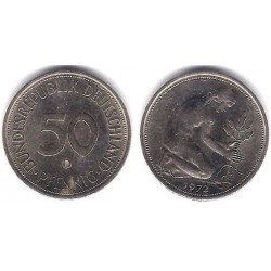 (109.2) Alemania. 1972(D). 50 Pfennig (MBC)
