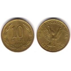 (218.1) Chile. 1984. 10 Pesos (EBC-)