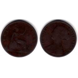 (748.2) Gran Bretaña. 1868. Half Penny (BC)
