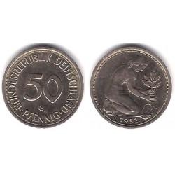 (109.2) Alemania. 1982(G). 50 Pfennig (MBC)