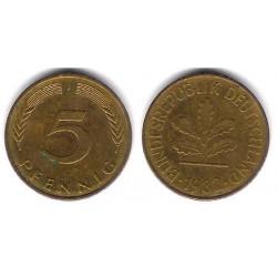 (107) Alemania. 1982(J). 5 Pfennig (MBC)