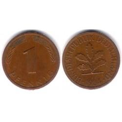 (105) Alemania. 1984(J). 1 Pfennig (MBC)