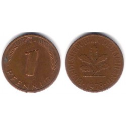 (105) Alemania. 1979(J). 1 Pfennig (MBC-)