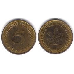 (107) Alemania. 1983(F). 5 Pfennig (MBC)