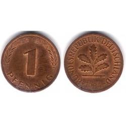 (105) Alemania. 1984(D). 1 Pfennig (MBC)