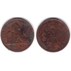 (61) Bélgica. 1919. 2 Cents (BC-)