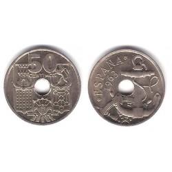 Estado Españo. 1963*(19-65). 50 Céntimos (SC)