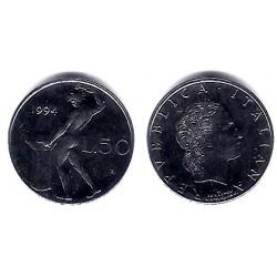 (95.2) Italia. 1994. 50 Lira (EBC)