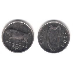 (28) Irlanda. 2000. 5 Pence (EBC+)