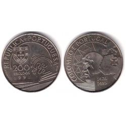(658) Portugal. 1991. 200 Escudos (SC)