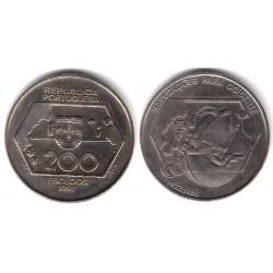 (659) Portugal. 1991. 200 Escuos (EBC+)