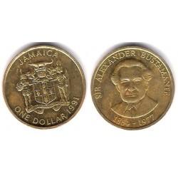 (145) Jamaica. 1991. 1 Dollar (MBC+)