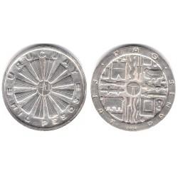 (55) Uruguay. 1969. 1000 Pesos (EBC+) (Plata)