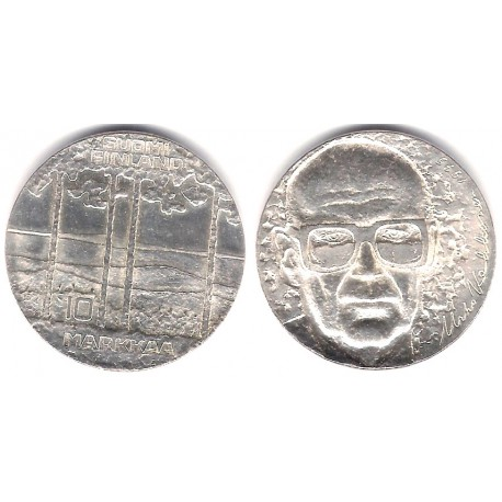 (54) Finlandia. 1975. 10 Markkaa (SC) (Plata)