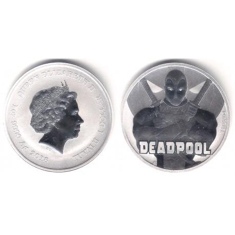 Tuvalu. 2018. 1 Dollar (Proof) (Plata)