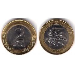 (112) Lituania. 2008. 2 Litai (EBC)