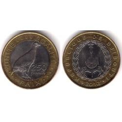 Djibouti. 2012. 250 Francs (EBC)